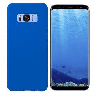 Capa silicone Samsung S8 Plus Azul Open Box Mobile
