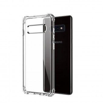 Capa silicone Samsung S10e Transparente Open Box Mobile