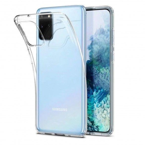 Capa silicone Samsung S20 Plus Transparente Open Box Mobile