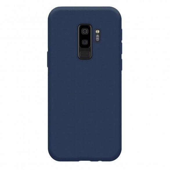 Capa silicone Samsung S9 Plus Azul escuro Open Box Mobile