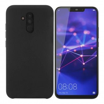 Cover silicone Huawei Mate Lite 20 Black Box Open Mobile