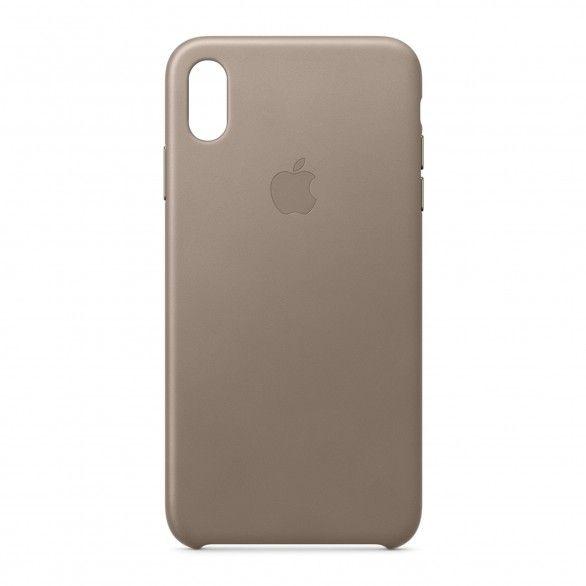 iPhone XS Max Capa couro