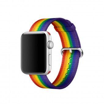 Bracelete Apple watch woven nylon 38mm Pulseira