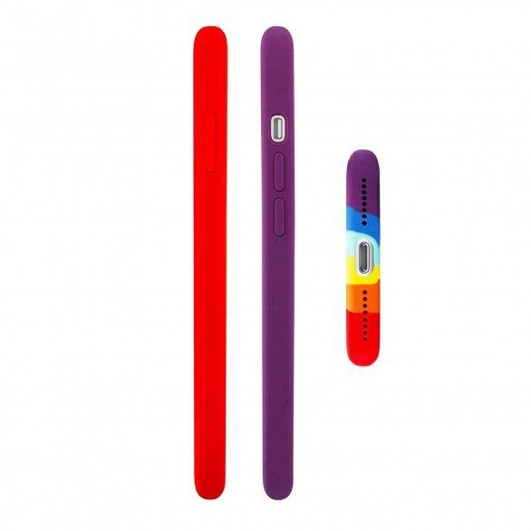 Capa silicone iPhone 7 Plus