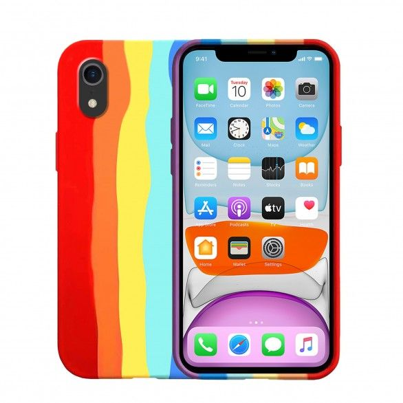 Capa silicone iPhone XR