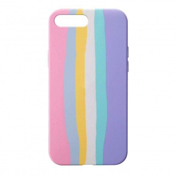 Capa silicone iPhone 8 Plus