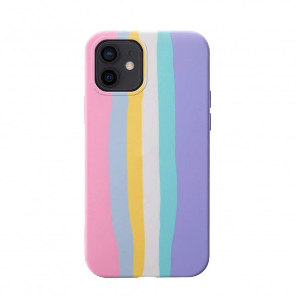 Capa silicone iPhone 12