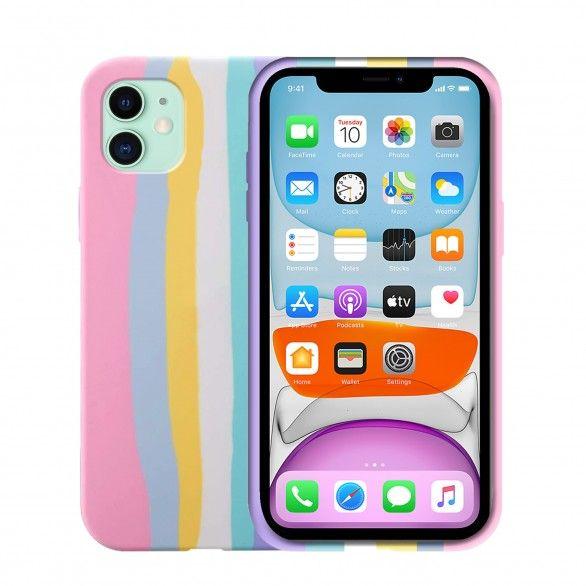 Capa silicone iPhone 11