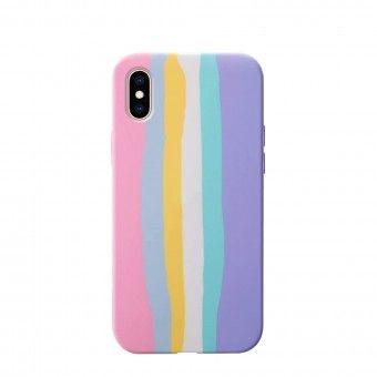 Capa silicone iPhone XS
