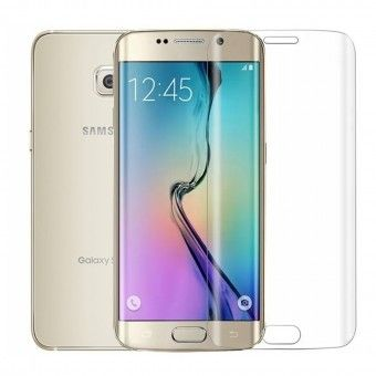 Pelicula simple Samsung S6 Edge Transparent Plus Open Box Mobile