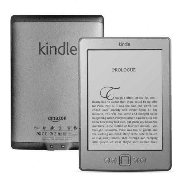 "Amazon Kindle 4 6"" (2011) 4 gen 256MB 2GB WiFi Gray Grade C"