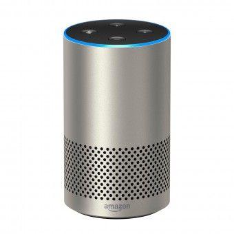 Coluna de Som Amazon Echo 2nd Gen Inteligente com Alexa Prateado Grade A