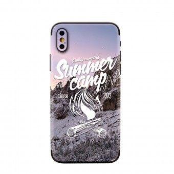 Proteção traseira 3D telemóvel summer camp