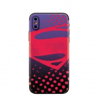 Proteção traseira 3D telemóvel superman