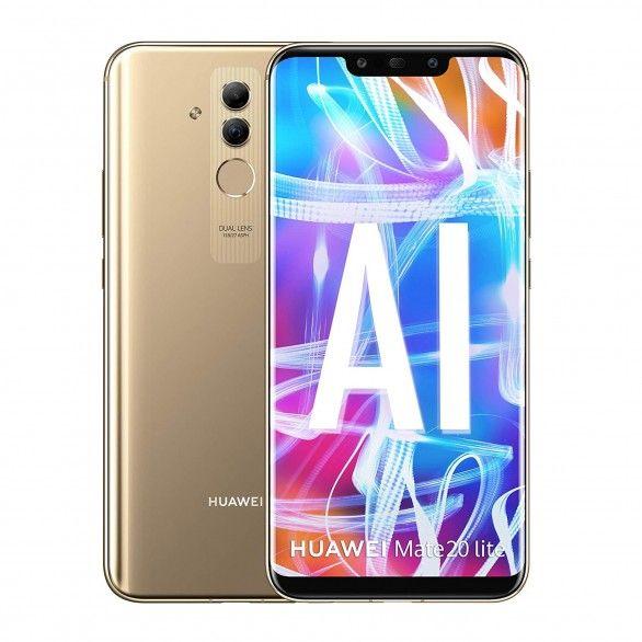 Huawei Mate 20 Lite 6GB 64GB Dourado