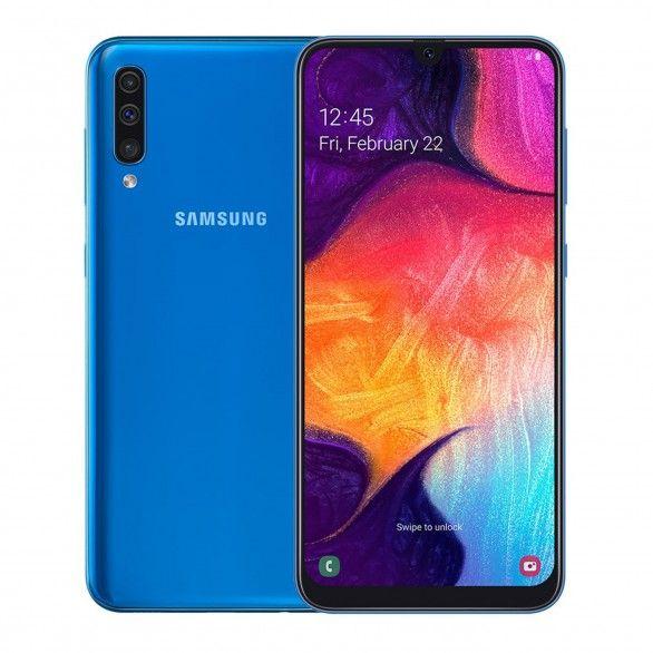 Samsung Galaxy A50 4GB 128GB Dual SIM 4G Blue Grade C